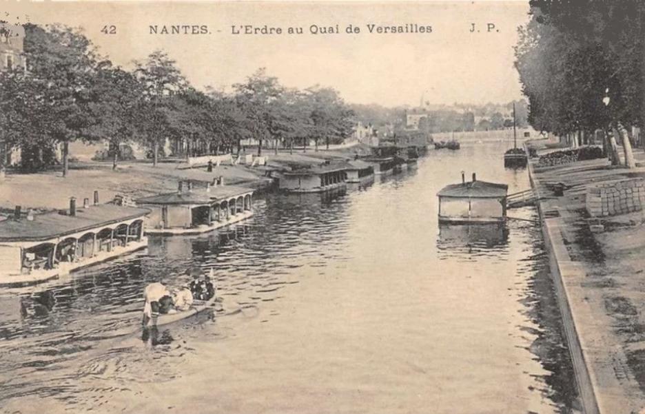 L'Erdre au Quai de Versailles