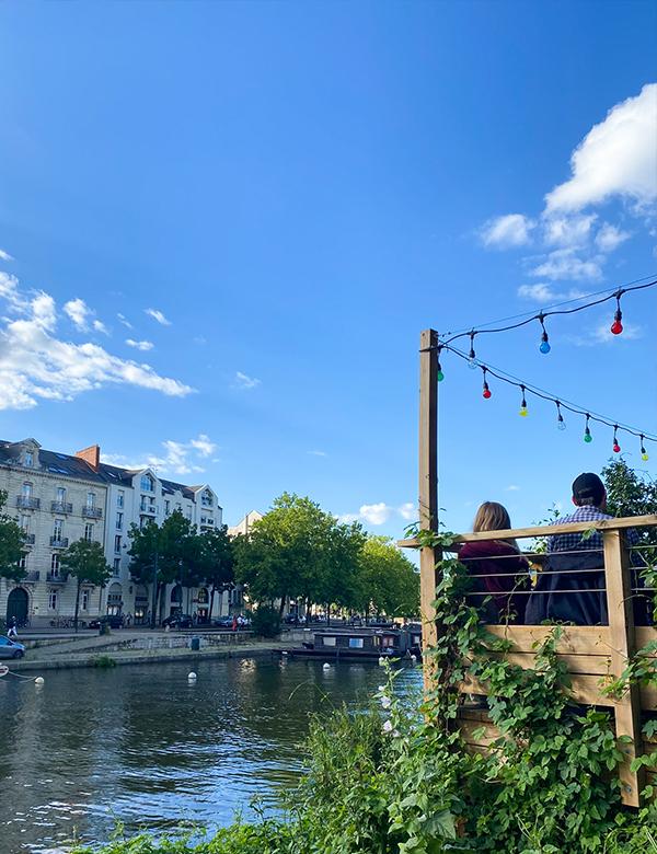 Le Bateau-lavoir, guinguette festive à Nantes